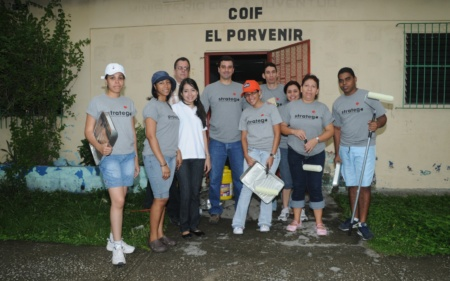 2008 - Voluntariado pintura Coif