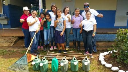 Escuela San Martín - Reforestación