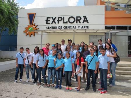 Visita a Explora - Escuela San Martín